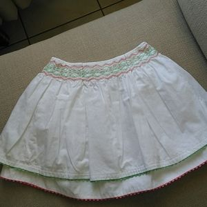 Janie and Jack smocked skirt.